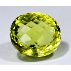 Lemon quartz 31.45 CT Gemstone Afghanistan 0014