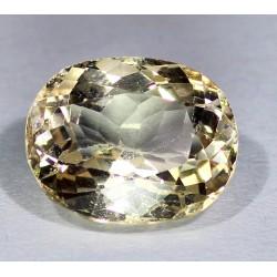 12.4 Carat 100% Natural Golden Topaz Gemstone Afghanistan Product No 0055
