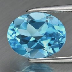 5.5 CT Blue Topaz Gemstone 0039