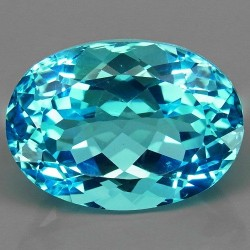 17.50 CT Blue Topaz Gemstone 0046