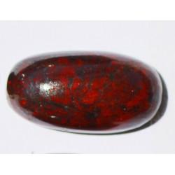 24.70  CT BloodStone Gemstone Afghanistan 030