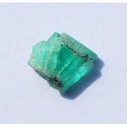 0.75 CT 100% Natural  Rough Emerald Gemstone Afghanistan 325
