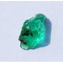 0.41 CT 100% Natural  Rough Emerald Gemstone Afghanistan 329