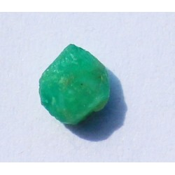 0.55 CT 100% Natural  Rough Emerald Gemstone Afghanistan 330