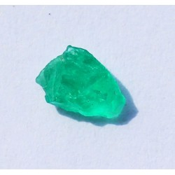 0.55 CT 100% Natural  Rough Emerald Gemstone Afghanistan 331
