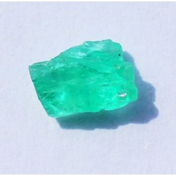 0.76 CT 100% Natural  Rough Emerald Gemstone Afghanistan 332