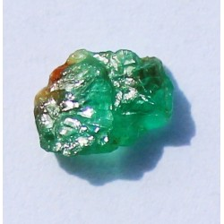 0.69 CT 100% Natural  Rough Emerald Gemstone Afghanistan 333