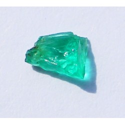 0.45 CT 100% Natural  Rough Emerald Gemstone Afghanistan 335
