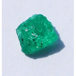 0.55 CT 100% Natural  Rough Emerald Gemstone Afghanistan 336