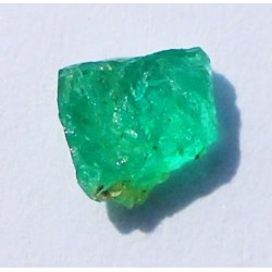 0.55 CT 100% Natural  Rough Emerald Gemstone Afghanistan 337
