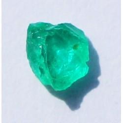 0.43 CT 100% Natural  Rough Emerald Gemstone Afghanistan 338