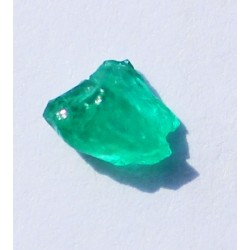 0.71 CT 100% Natural  Rough Emerald Gemstone Afghanistan 341