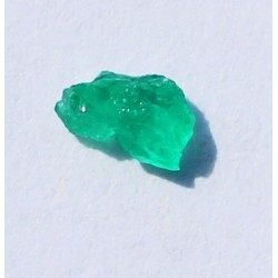 0.25 CT 100% Natural  Rough Emerald Gemstone Afghanistan 343
