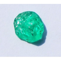 0.79 CT 100% Natural  Rough Emerald Gemstone Afghanistan 345