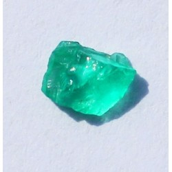 0.33 CT 100% Natural  Rough Emerald Gemstone Afghanistan 348