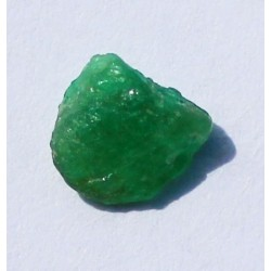 0.88 CT 100% Natural  Rough Emerald Gemstone Afghanistan 349