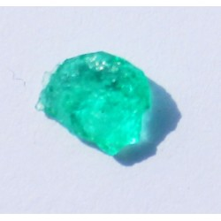 0.71 CT 100% Natural  Rough Emerald Gemstone Afghanistan 352