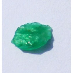 0.38 CT 100% Natural  Rough Emerald Gemstone Afghanistan 353