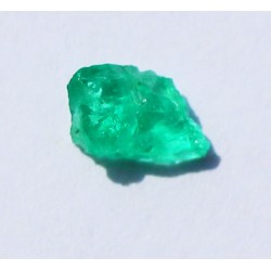 0.76 CT 100% Natural  Rough Emerald Gemstone Afghanistan 369