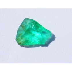 0.42 CT 100% Natural  Rough Emerald Gemstone Afghanistan 370