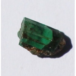 0.85 CT 100% Natural  Rough Emerald Gemstone Afghanistan c