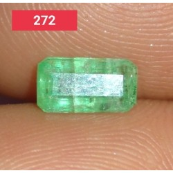 0.70 Carat 100% Natural Emerald Gemstone Afghanistan Product No 272