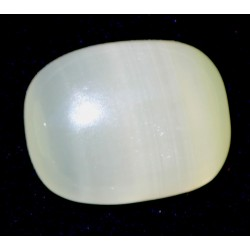 Yellowish Green 38 CT Onyx Oval Cut Gemstone 0006