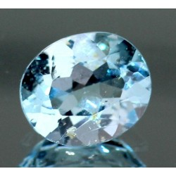5.0 CT Blue Topaz Gemstone 002