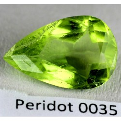 4.5 CT Green Peridot Gemstone Afghanistan 0035