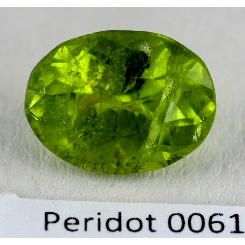 5 5 ct green peridot gemstone afghanistan 0061