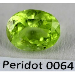 3.5 CT Green Peridot Gemstone Afghanistan 0064