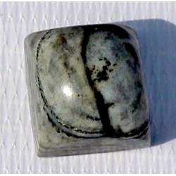 26 CT Bi Color  Jade Gemstone Afghanistan 0035