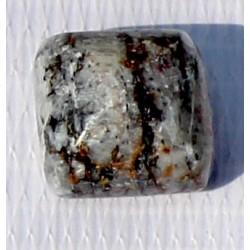 26 CT Bi Color  Jade Gemstone Afghanistan 0036