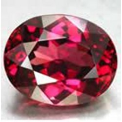 1.0 CT Natural Rhodolite Pinkish Red Garnet Afghanistan 009