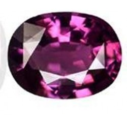 1.25 CT Natural Rhodolite Pinkish Red Garnet Afghanistan 0011