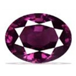 1.0 CT Natural Rhodolite Pinkish Red Garnet Afghanistan 0020