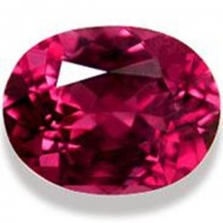 1.0 CT Natural Rhodolite Pinkish Red Garnet Afghanistan 0024