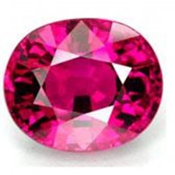 1.0 CT Natural Rhodolite Pinkish Red Garnet Afghanistan 0030