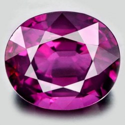 1.0 CT Natural Rhodolite Pinkish Red Garnet Afghanistan 0031