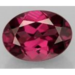 1.0 CT Natural Rhodolite Pinkish Red Garnet Afghanistan 0035