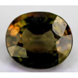 Brown Tourmaline 1.5 CT Gemstone Afghanistan 0211