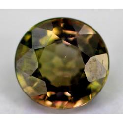 Brown Tourmaline 1 CT Gemstone Afghanistan 0214