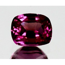 1.5 CT Natural Rhodolite Pinkish Red Garnet Afghanistan 0041