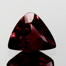 1.0 CT Natural Rhodolite Pinkish Red Garnet Afghanistan 0043