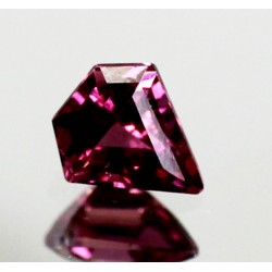 1.0 CT Natural Rhodolite Pinkish Red Garnet Afghanistan 0048