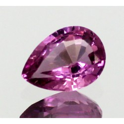 1.0 CT Natural Rhodolite Pinkish Red Garnet Afghanistan 0053