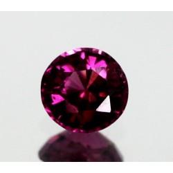 1.25 CT Natural Rhodolite Pinkish Red Garnet Afghanistan 0060