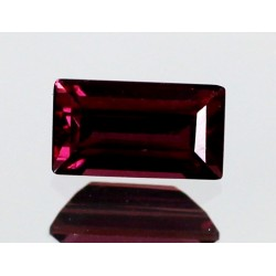 1.0 CT Natural Rhodolite Pinkish Red Garnet Afghanistan 0074