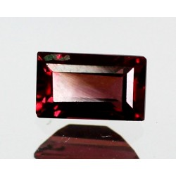 1.0 CT Natural Rhodolite Pinkish Red Garnet Afghanistan 0075