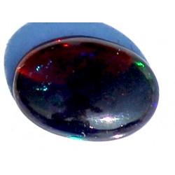 100% Natural Black Opal 1.0 CT Gemstone Ethiopia 0023